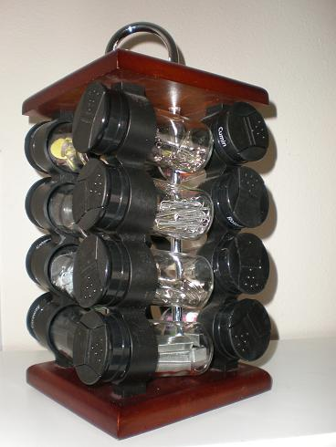 spice rack office supply organizer