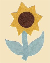 SUNFLOWER APPLIQUE PATTERNS - APPLIQUE DESIGNS