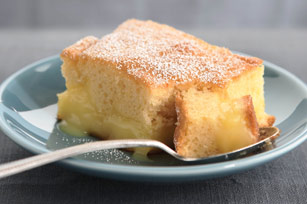 warm winter lemon cake