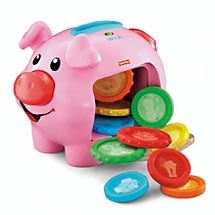 laugh and learn piggy bank