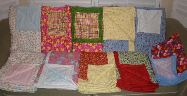 humanitarian crib quilts