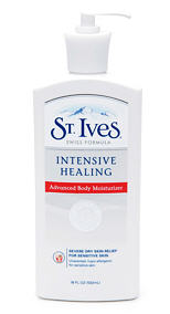 st. ives advanced healing lotion