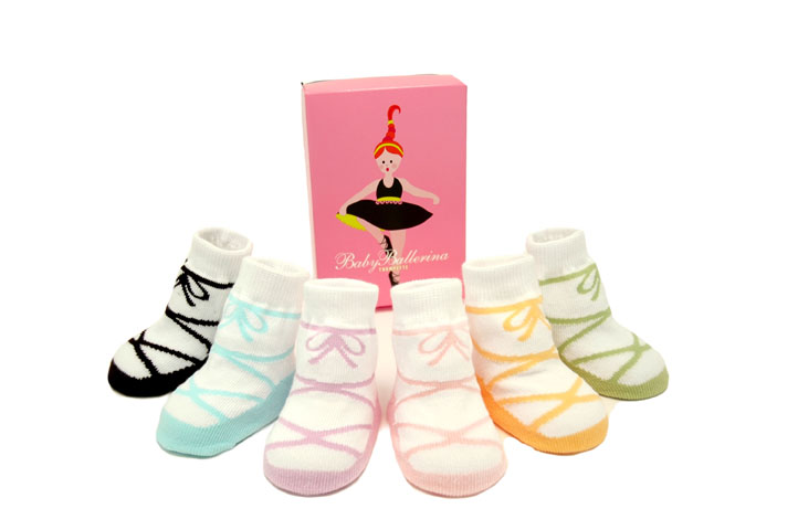 ballerina baby socks trumpette