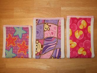 hand made burp cloths