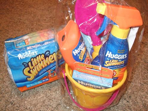 huggies little swimmers summer essentials kit