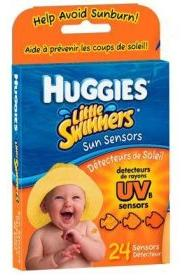 huggies summer essentials sun sensors