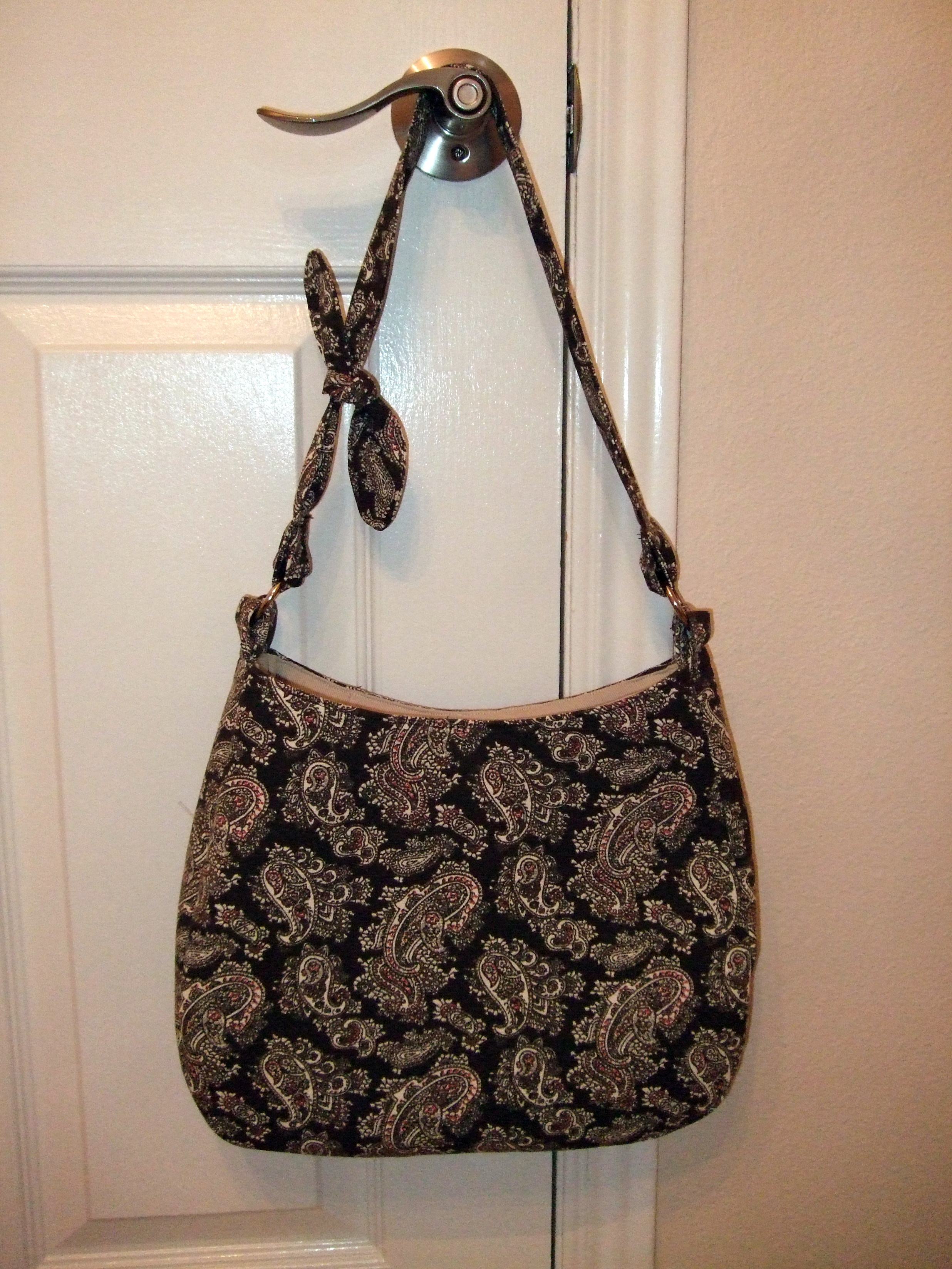 hobo bag purse tutorial