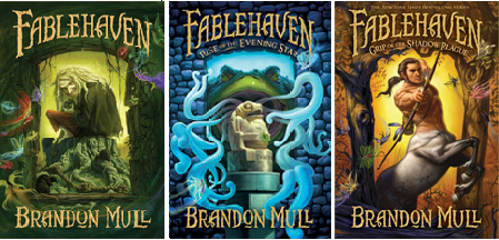 fablehaven series books 1 2 3 by brandon mull