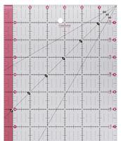 fiskars 6.5×24.5 clear acrylic ruler
