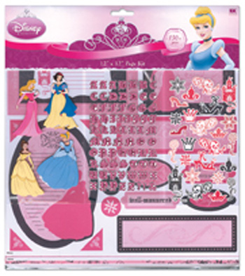 EK success disney princess page kit 12×12
