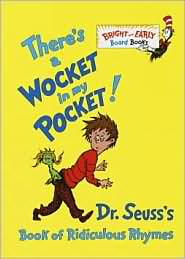 there's a wocket in my pocket dr. seuss