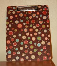 mod podge clipboard project