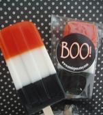 boo soap hand made halloween scented soap