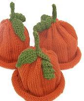 knitted pumpkin fruit kids hats beanies