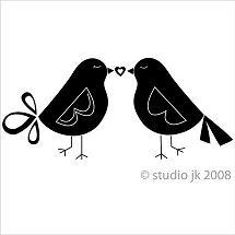 vinyl bird design wall art
