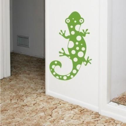 gecko lizard vinyl wall graphics art