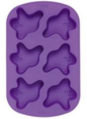 wilton silicone cupcake mold ghosts halloween bakeware