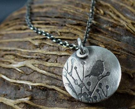 precious metal necklace handmade