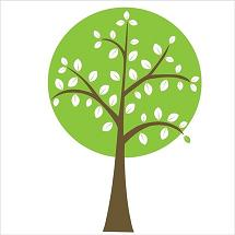 vinyl nature tree