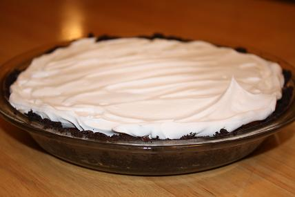 double chocolate mousse pie recipe