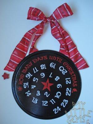 my little gems magnetic advent calendar