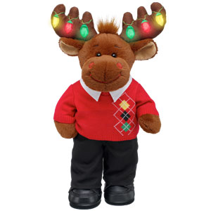 argyle style hal moose build a bear