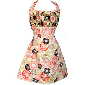 Designer Kitchen Aprons designer kitchen aprons - vintage style fun pocket ruffled aprons