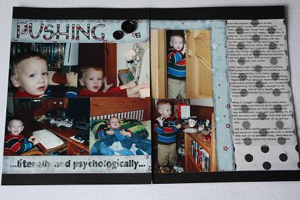 scrapbooking inked edges