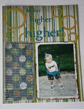 scrapbooking with vellum