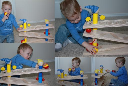haba rock and roll ball track review