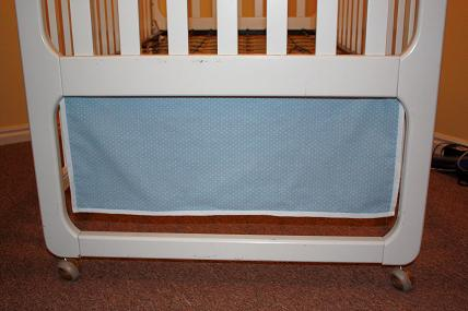 make your own baby bedding crib bedskirt
