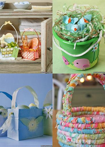 Easter Baskets Made From Ideas For Easter Baskets For Kids