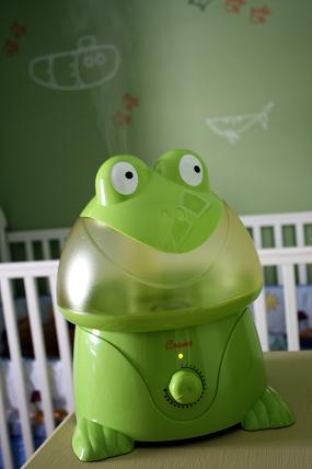 frog humidifier crane adorable animals