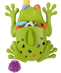 frog pod bath toy scoop boon inc