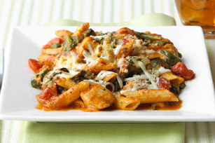 three-cheese-chicken-penne-pasta-bake-55707