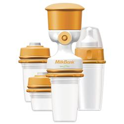 milkbank breast milk storage system