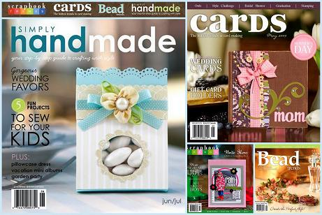 scrapbook trends bead trends cards simply handmade northridge media idea book