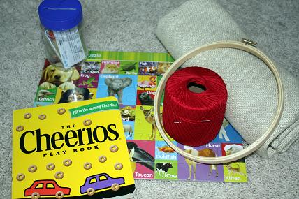 road trip kids activity bag