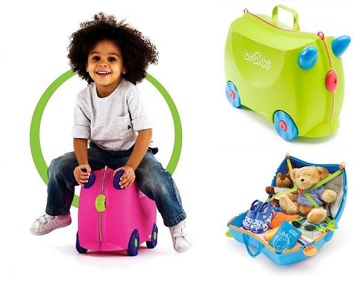 Traveling With Kids Giveaway: Trunki Ride-On Suitcase | Vanilla Joy