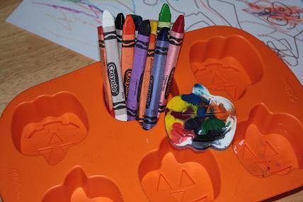 halloween crazy crayons