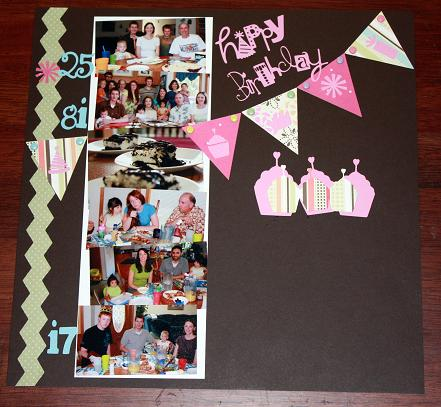 scrapbooking vacation pics