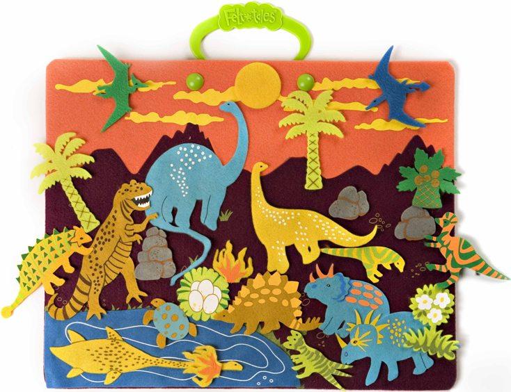 dinosaurs felt board