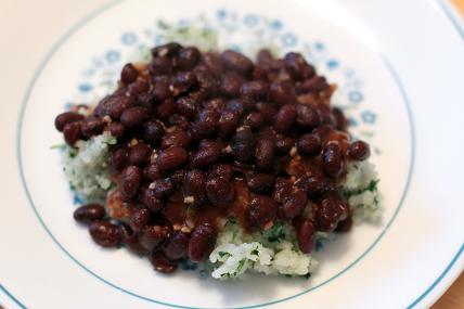 dominican beans and rice