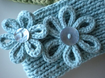 Knitting Pattern For A Headband With Flower : GIVEAWAY   Knitting for Dummies and Headwrap Pattern Vanilla Joy