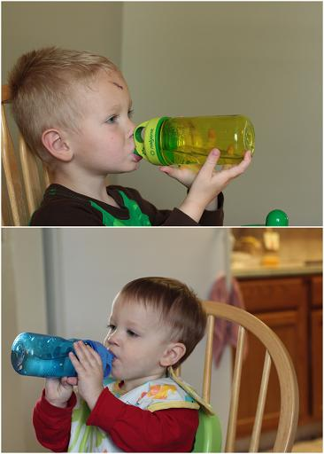 grip n gulp nalgene toddler bottle