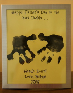 Craft For Fathers Day Ideas Children Preschoolers