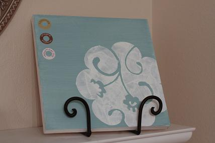 craft painted canvas