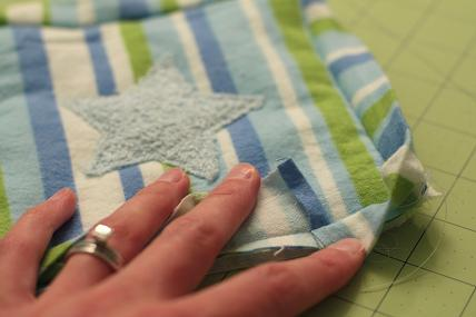 car seat shoulder pad sewing tutorial