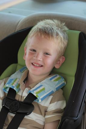 car seat shoulder harness strap pad