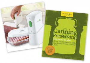 canning and preserving with ashley english foodsaver handheld vacuum sealing system
